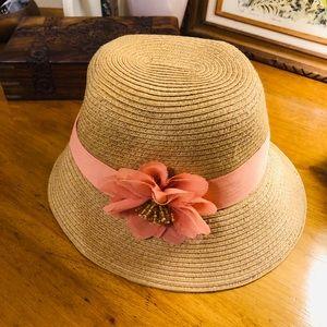 August Hat Co. Blush Flower Sun Hat